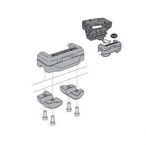 Quick-Lock Nonshock GPS bevestiging 10-12mm